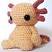 Axolotl - Crochet pattern