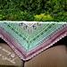 Wild blossom shawl pattern