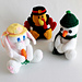 Holiday Coin Banks pattern