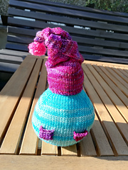 Clue 6 -  Gnellie decided on a braided hat with a pompom