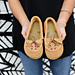Moccasins With Flip Flop Soles pattern