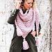 At First Blush Triangle Scarf pattern