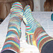 Two Needle Socks pattern