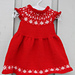Snøfnugg-kjole pattern