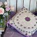 Lyn's Rose Garden Pillow pattern