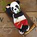 Melly Teddy Ragdoll Giant Panda Bear pattern