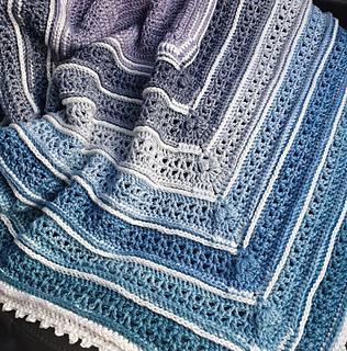 Ravelry: Serina's Ombre Blanket pattern by Melanie Grobler