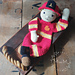 Melly Teddy Ragdoll Fireman Fred pattern