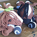 Melly Teddy Ragdoll Bonnie & Clyde Horse pattern