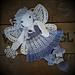 Melly Teddy Ragdoll Snowfall Fairy pattern