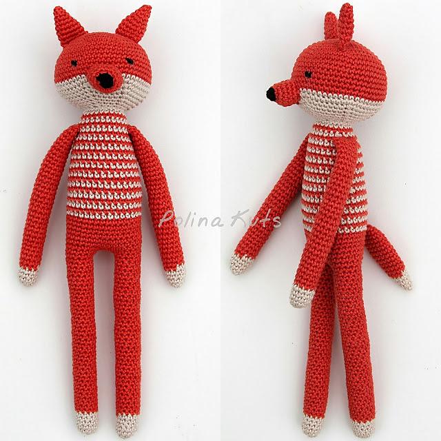 Long-legged amigurumi toys | Вязаные игрушки, Вязание, Шитье | 640x640