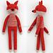 Leggy Fox pattern