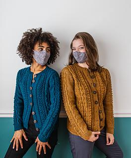 Anaïs (L) wears Aubree in Harbor & Kiley (R) wears Aubree in Honeycomb / Photographer: Danie Harris