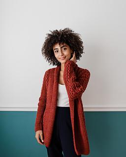 Anaïs wears Janey in Cinnamon / Photographer: Danie Harris
