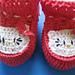 Sapatinho de croche Hello Kitty pattern