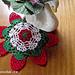 Toalhinha de Crochet Moranguinho pattern