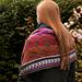 Schal - Loop in Herbstfarben pattern