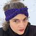 Ultra Violet Mobius Headband pattern