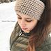Faux Knit Ear Warmer pattern