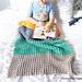 Color Block Blanket pattern