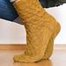 Honey and bee socks pattern