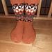 Fargespill triangel sokker pattern