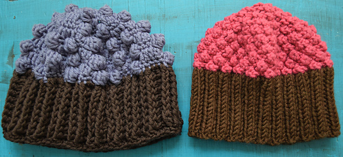 Ravelry: Knitted Cupcake Hat pattern by Marie Segares