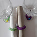 Girls' Night In Napkin Rings & Wine Glass Charms pattern