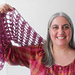 Holiday Hostess with the Mostest Shawlette pattern