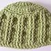 Simple Textures Newborn Hat pattern
