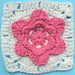 Coming Up Roses Square pattern