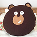 Kodiak Bear Pillow Pal pattern
