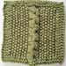 Uneven Cable Square pattern
