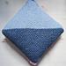 Diagonal Sand Stitch Pillow pattern
