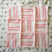 Gentle Stripes and Textures Baby Blanket pattern