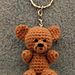 Teddy Keychain pattern