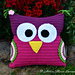 Owl Cushion for Tim pattern