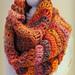 Sorbet Swirl Cowl pattern