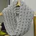 Barley alpaca cowl pattern