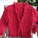 Lace and Ruffle Cardigan - 1 pattern