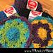 Flower Dishcloth Scrubby pattern