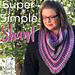 Super Simple Shawl pattern