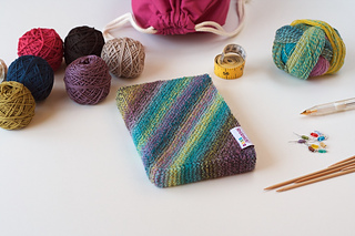 A knitted slipcover for your Strickplaner