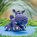 Hippopotamus pattern