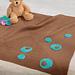 Asymmetrical Circles Blanket pattern