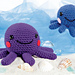 Baby Octopus and Mommy pattern