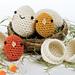 Happy Eggs pattern