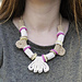 Mod Crocheted Beads Necklace pattern