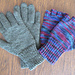 Gloves with Fingers or Fingerless pattern