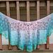 Summer in the Vineyard shawl pattern